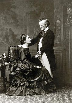 Wake up, Mrs. Wagner  On Christmas morning in 1870, composer Richard Wagner secretly assembled 17 musicians on the stairs leading to the bedroom of his wife, Cosima. As she slept, they started to play (with Wagner conducting) a piece he had written just for her, inspired in part by the birth of their son, Siegfried, and incorporating details of their domestic life.