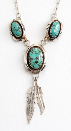 Turquoise feather necklace #bijoux #bijouxcreateur #france #paris #bijouxfantaisie #jewelry