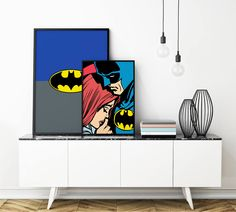 Hot Couple: Batman and His Secret Mistress Customizable