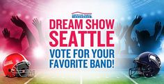 Vote for your favorite band to win Dream Show Seattle
