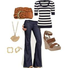 Everyday outfit... like these jeans by Misty Honan