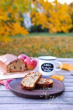 JABLKOVÝ CHLEBÍK - Moje Jedlo French Toast, Food And Drink, Breakfast, Morning Breakfast