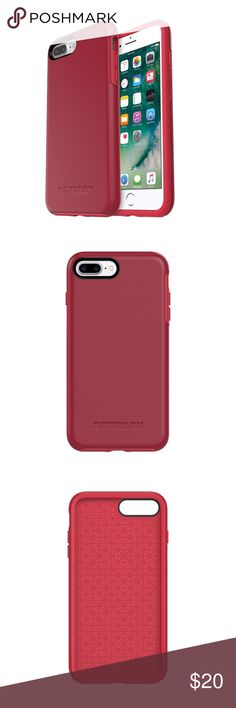 OtterBox Symmetry Series IPhone 7+ OtterBox Symmetry Series IPhone 7+ \ Cover stock Photo \ EUC Little or No Signs of Wear OtterBox Accessories Phone Cases
