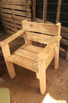 renovARTE con palets: sillas, sillones, butacas, esquineros...                                                                                                                                                                                 Más