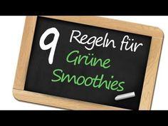 9 Regeln für den Grünen Smoothie   Grüne Smoothies, vegane Ernährung, natürliche Gesundheit