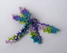 Handmade Lace Dragonfly Pin