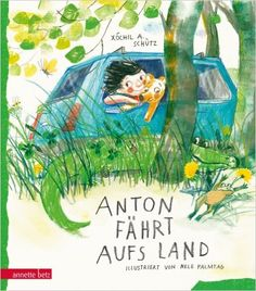 Anton fährt aufs Land: Amazon.de: Xóchil A. Schütz, Nele Palmtag: Bücher Slam Poetry, Anton, Kids Lighting, Children's Book Illustration, Light Art, Cover Design, Childrens Books, Book Art, Painting