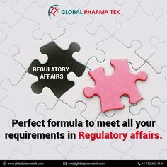 Perfect formula to meet all your requirements in Regulatory affairs.Global PharmaTek has its own Regulatory Affairs (RA) department to offer regulatory support for Pharmaceutical and Biotech companies in the very competitive life sciences field. Regulatory Affairs, Clinical Research, Life Science, Enabling, Safety, Meet, Security Guard, Biology