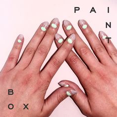 Show and Tell by Anna #paintboxmani #nails #nailart