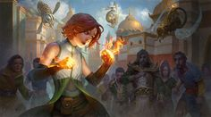 Chandra. Magic: The Gathering