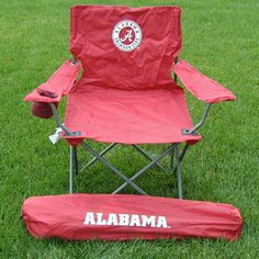 Outdoor Rivalry Collegiate Folding Adult Tailgate Chair - RV191-1050