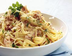Renzoni Vineyards Spaghetti alla Carbonara