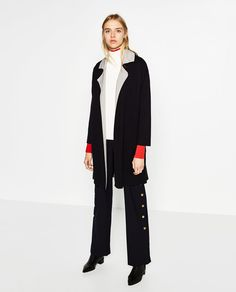 DOUBLE-SIDED COAT-OUTERWEAR-WOMAN | ZARA United States