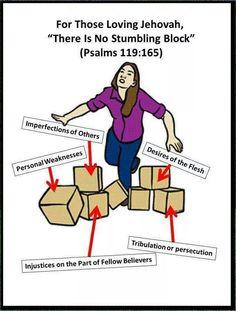 No stumbling block