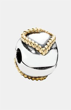 PANDORA 'Braided Heart' Clip Charm available at #Nordstrom