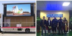Happy time with our England clients. Another order about 10 mobile truck LED screens.😬