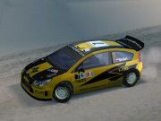 Citroën C4 WRC Rally Norway 2009 Paper Car Free Vehicle Paper Model Download
