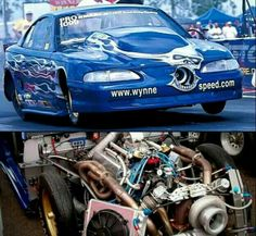 Tim Savell(Wynne Speed) 1998  Ford Mustang