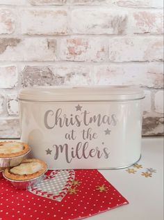 Gorgeous family Christmas tin personalised with the name of your choice. Personalised Scrapbook, Personalised Frames, Gotcha Day, Photo Album Scrapbooking, Tiny Star, Jar Gifts, Tea Light Holder, Family Christmas, Home Gifts