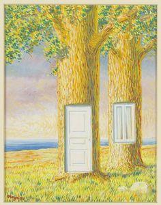 René Magritte - Sans Titre (La Vie de Famille)  : ⚪️More At FOSTERGINGER @ Pinterest