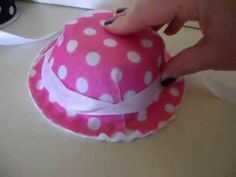 """HTM - Basic Hat 18"""" Dolls *Requested.  WATCH ENTIRE VIDEO!! TRY USING THE BOWL TO MOLD FELT INSTEAD OF USING IT AS BASE FOR HAT   NICE HAT FOR FELICITY AT END*"""