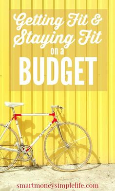 Getting Fit and Staying Fit on a Budget | Finding ways of getting fit and staying that way without spending a fortune is my latest challenge. If you're also looking for ways to workout that don't cost a fortune you might enjoy this list of frugal fitness ideas, too.#GetFitOnABudget #FrugalFitnessIdeas - Smart Money, Simple Life