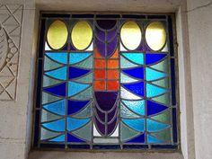 Art Deco Window Design - Montparnasse Cemetery