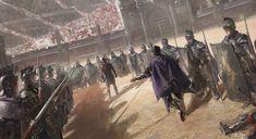 Gladiator art Commodus Gladiator, Gladiator Colosseum, Emperor Commodus, Warhammer Fantasy, Roman Empire, Fantasy Warrior, Fantasy Art, Gladiators, Roma Antigua