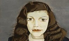 Lucian Freud - girl in a dark jacket, 1947 (his wife, kitty)