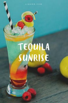 Trust us you need to try this #tequila #sunrise variation.
