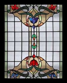 Stained Glass Window Film, Stained Glass Flowers, Faux Stained Glass, Stained Glass Designs, Stained Glass Panels, Stained Glass Projects, Stained Glass Patterns, Art Nouveau, Mosaic Glass