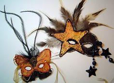 Miniature Masquerade Masks