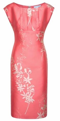 images by www.PRoSHOTS.ie | Caroline Kilkenny Coral Silk Jacquard Bea Dress, €257