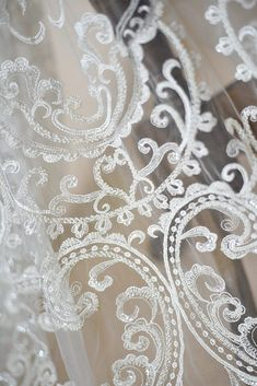 Lace Fabric Cartoon Cute Baby Dress Fabric  Embroidery Ivory Tulle Fabric Exquisite Bridal Wedding Headband 51 width 1 yard