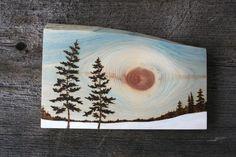 Etsy の Winter's Tale Wall Art Wood Burning by TwigsandBlossoms