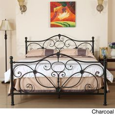Marcus Queen Metal Bed by Christopher Knight Home (Cha