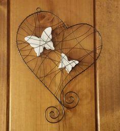Závěsná dekorace srdce