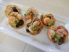 Eggface Dinner Idea: Roasted Veggies and Shrimp Baked Tacos
