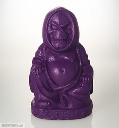 Skeletor Buddha Statue Purple 2 ** Check out the image by visiting the link.