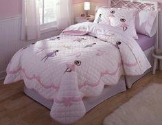 Ballet Class Quilt with Pillow Sham Emma's Room?