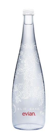 New look #Evian #Water Bottle design.