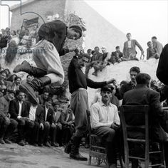 Wedding at Anogia, Crete, 1954 (b/w photo), Photographer Dimitris Harissiadis (1911-93), Benaki Museum, Athens, Greece