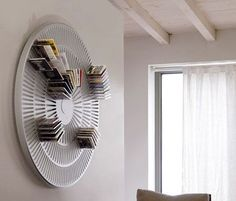 Annular CD Rack via inewidea.com #CD_Rack #inewidea