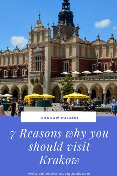 Learn more about this beautiful Krakow's Cloth Hall and all the other Krakow travel tips to help you plan your own trip to Krakow.