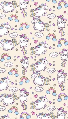 Unicornio papel tapiz