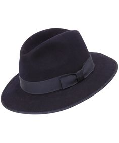 Navy Country Drop Brim Trilby, Christys' Hats. Shop the latest Christy's Hats collection at Liberty.co.uk nice