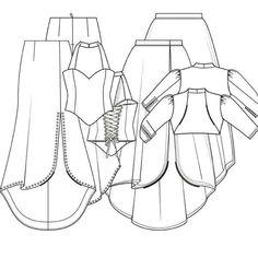 Patroon trouwjurk met bolero (PDF patroon) | Dames | Knipmode
