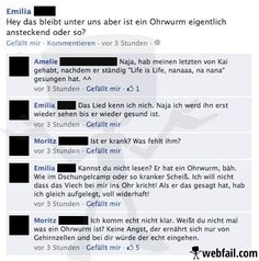 Ohrwurm wider Willen - Facebook Fail des Tages 23.03.2014 | Webfail - Fail Bilder und Fail Videos