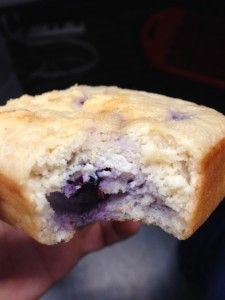 Lemon Blueberry Protein Bars. This looks sooo good. I am making this tomorrow !