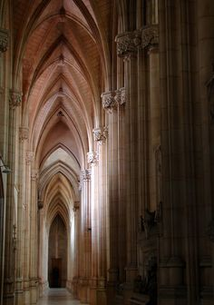 Empty aisle, Downside Abbey, Somerset | Explore archidave's … | Flickr - Photo Sharing!